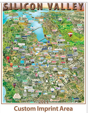siliconvalley companies map